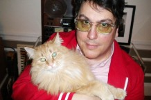John Flansburgh and Symphony Sid / Photo by John Flansburgh