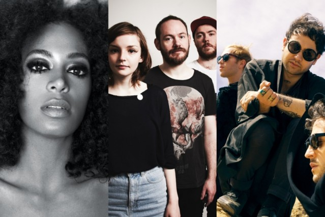 Solange, CHVURCHES, Unknown Mortal Orchestra