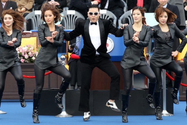 "PSY, ""Gangnam Style,"" ""Remix Style"""