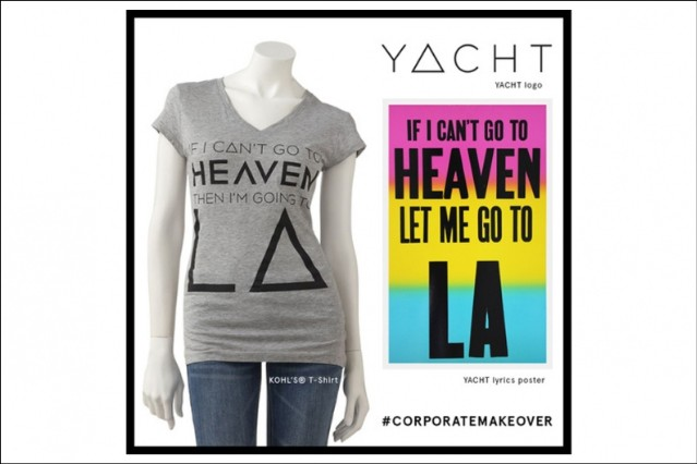 YACHT Kohls 'Heaven' Design Lyrics Infringement Shangri-LA