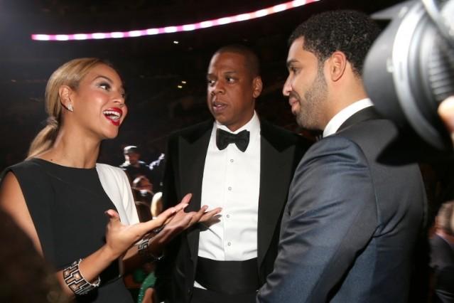 Drake, Beyonce, Jay-Z
