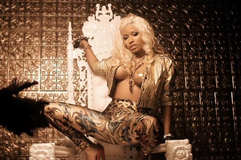 Nicki Minaj Pasties Gif