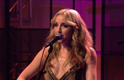 Watch Ashley Monroe Perform Radiant, Halle Berry-Pleasing 'Like a Rose' on 'Leno'
