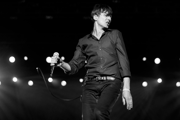 Suede's Brett Anderson / Photo by Ben Stansall /AFP/Getty Images