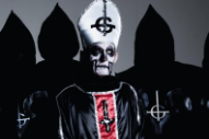 Vote Ghost B.C.'s Frontman for Pope to Hear the Demonic Death March 'Year Zero'