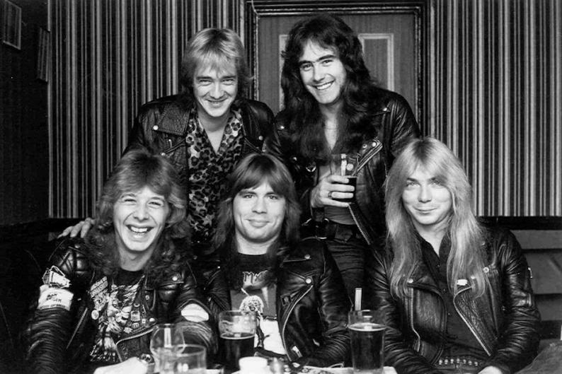 Iron Maiden, Clive Burr
