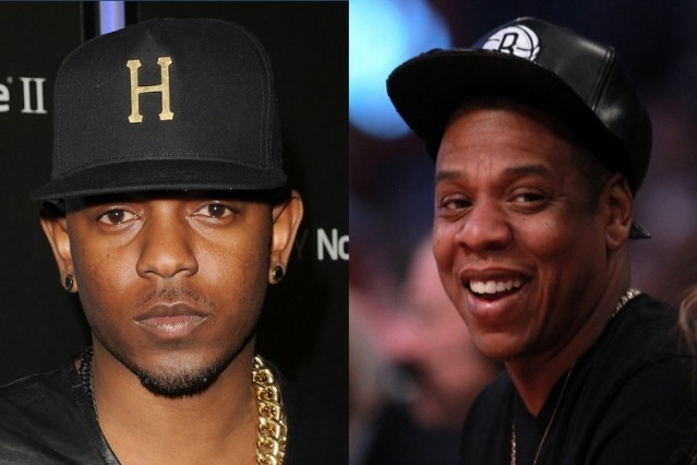 Kendrick Lamar and Jay-Z