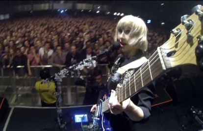 See What the Joy Formidable's Guitars See in 'Little Blimp' Video