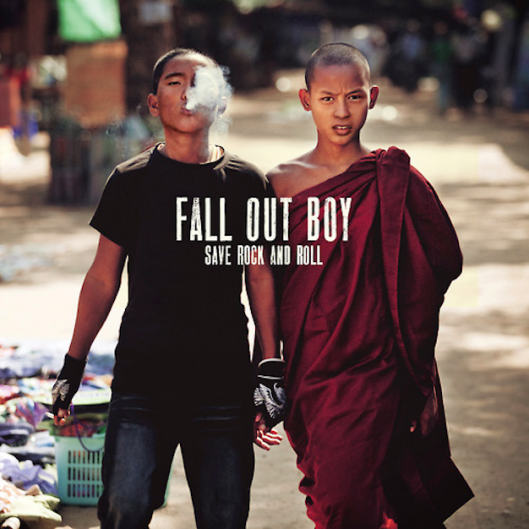 Fall Out Boy, 'Save Rock and Roll,' cover art