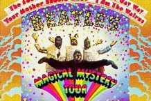 john lennon, george harrison, the beatles, magical mystery tour, auction