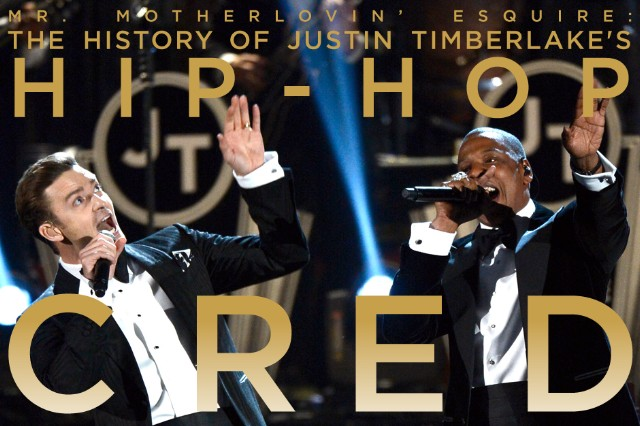 Mr. Motherlovin' Esquire: The History of Justin Timberlake's Hip-Hop Cred