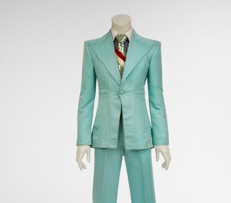 Ice-Blue Suit
