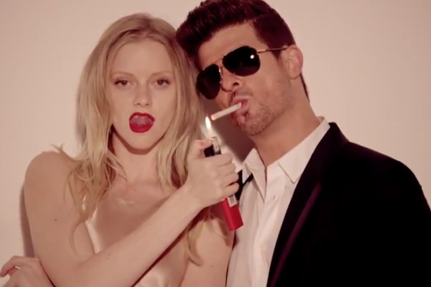 Robin Thicke Goes Dubstep for Will.i.am-Produced 'Give It to Me'