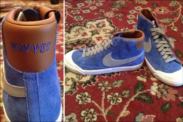 Wavves Nike Custom Shoe Design Nathan Williams