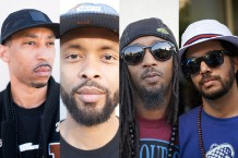 Souls of Mischief / (Phesto) Photo by Wilson Lee, (Tajai, A-Plus, Opio) Photos by Matt Ellis