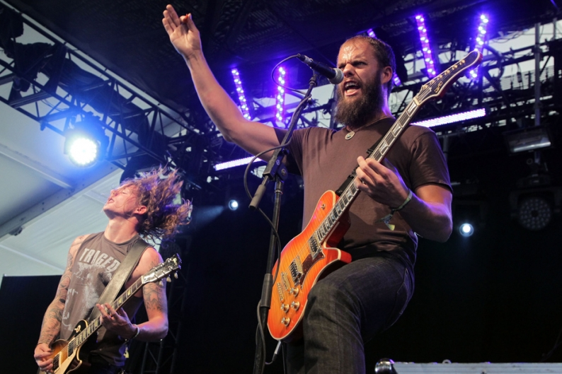 Baroness Rhythm Section Departs Following Bus Crash Spin