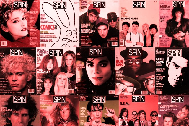 SPIN's Complete Covers Gallery: The 1980s