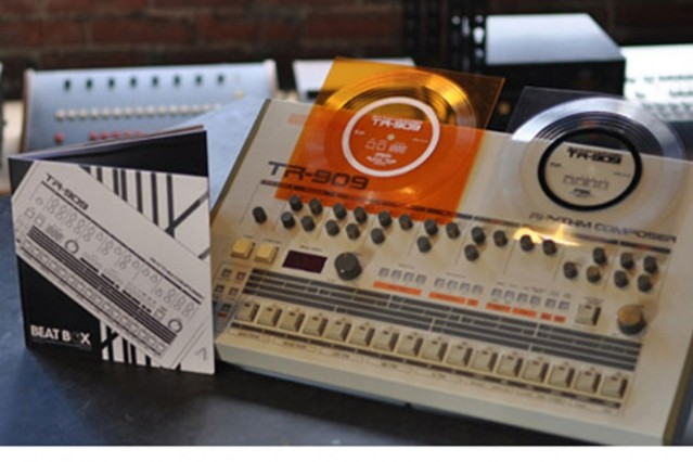 Hip-Hop Reissue Experts Rep for TR-909 Drum Machine With
