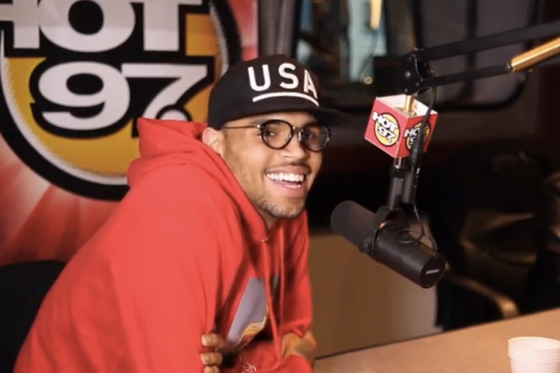 Chris Brown Shades Frank Ocean in Typical Classless Fashion