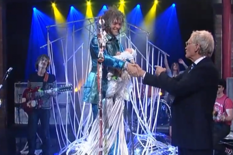 Watch the Flaming Lips' Supremely Deranged 'The Terror' Freakout on 'Letterman'
