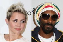 Snoop Lion Miley Cyrus 'Ashtrays and Heartbreaks'