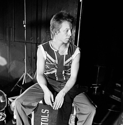The Sex Pistols' Paul Cook, late 1970s