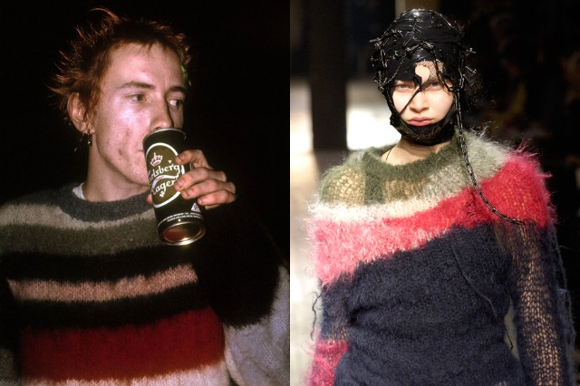 John Lydon / Junya Watanabe Fall/Winter 2006-7 / Photo Courtesy of The Metropolitan Museum of Art