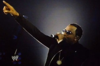 Watch Diddy Rock the Wrestlemania Stage Like It's 1998