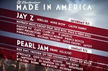 Jay-Z Made in America Festival Skrillex Pearl Jam Drake Odd Future D'Angelo