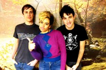 The Thermals, (L-R) Hutch Harris, Kathy Foster, Westin Glass