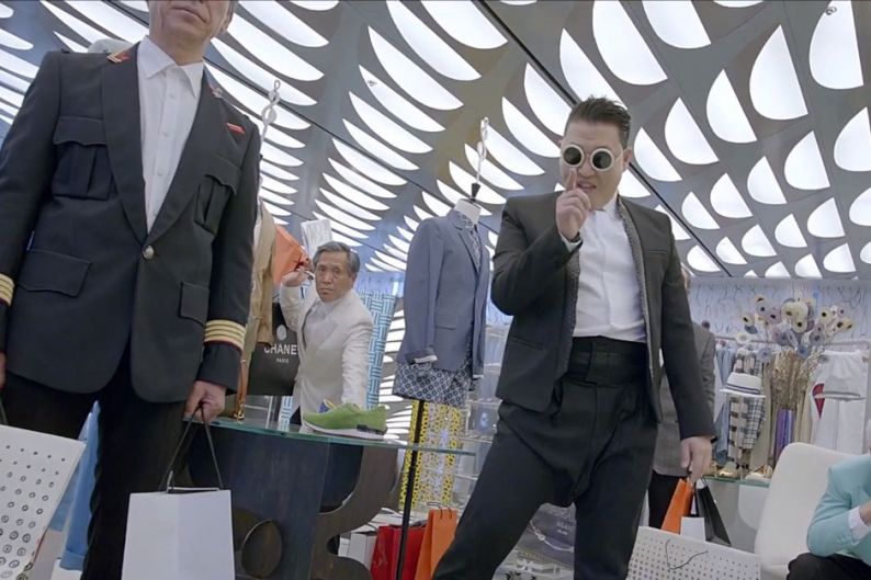 Watch PSY Act Like a Creep, Thrust His Crotch in 'Gentleman' Video