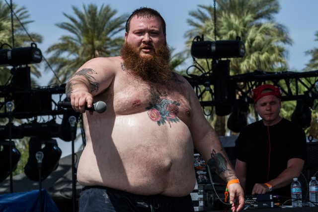 Best Topless Person: ACTION BRONSON