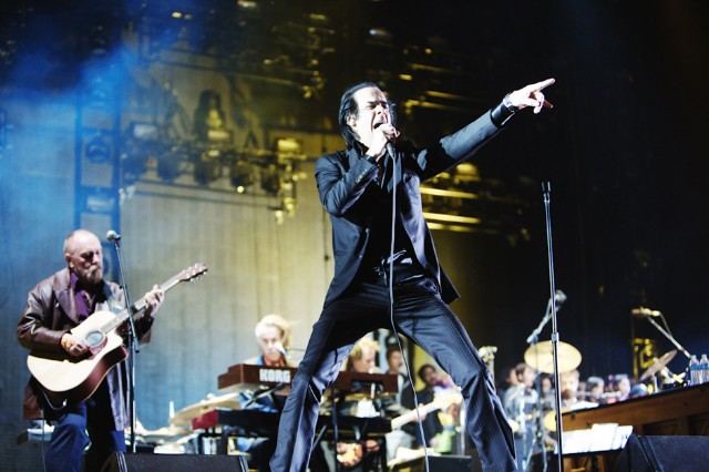 Nick Cave & the Bad Seeds / Photo by Andrew Swartz