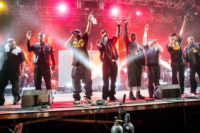 Wu-Tang Clan / Photo by Erik Voake