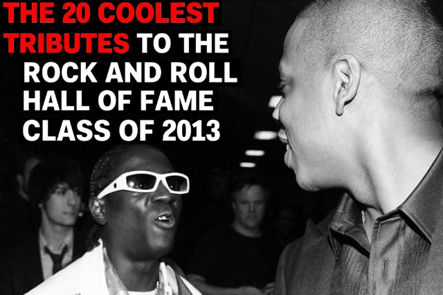 The 20 Coolest Tributes to the Rock and Roll Hall of Fame Class of 2013