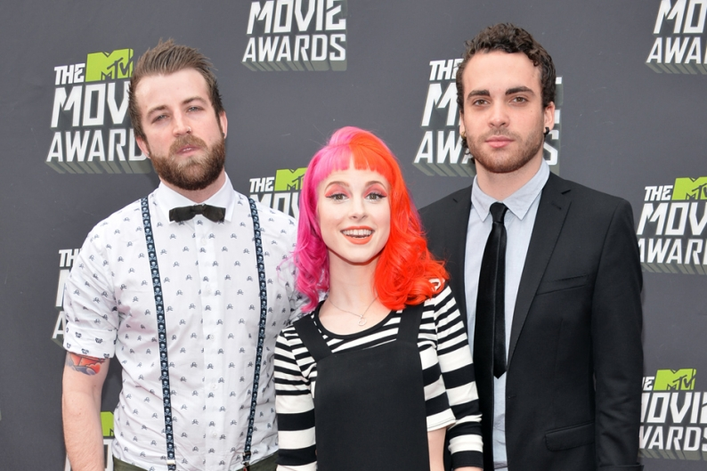 Paramore Pink Nate Ruess Just Give Me a Reason Billboard Chart