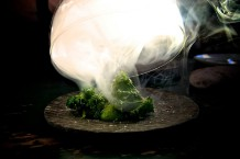 Maaemo's Grønnkål fra Hadeland: Not your average steamed cabbage / Photo by Maaemo