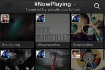 Twitter's new music app / Twitpic
