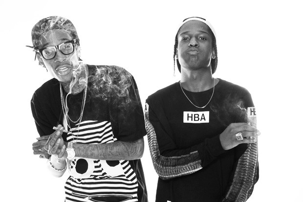 Best Buds: Wiz Khalifa and A$AP Rocky Talk Upcoming Tour
