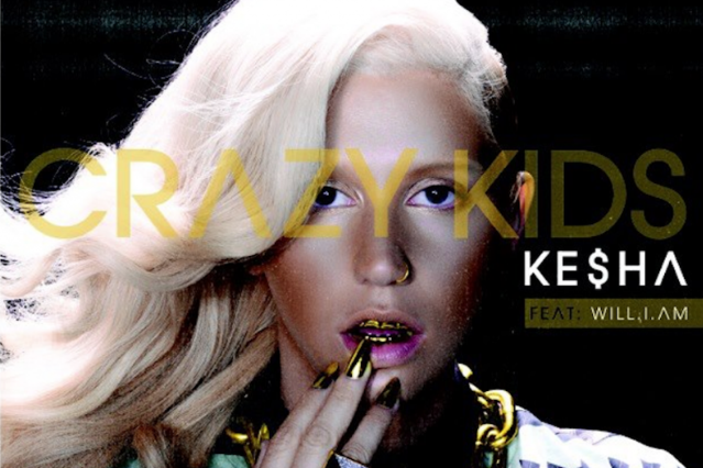 "Ke$ha, will.i.am, ""Crazy Kids"""