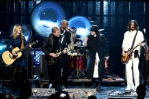 All-star Jam at the Rock and Roll Hall of Fame Induction Ceremony, April 18, Los Angeles