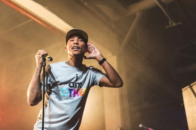 Pharrell / Photo by Loren Wohl