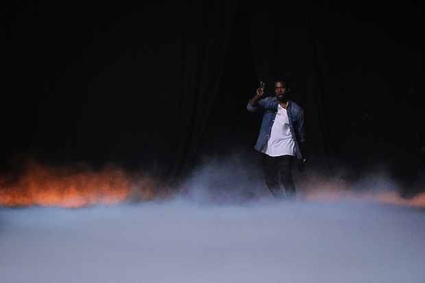 Kanye emerges / Photo by Getty Images