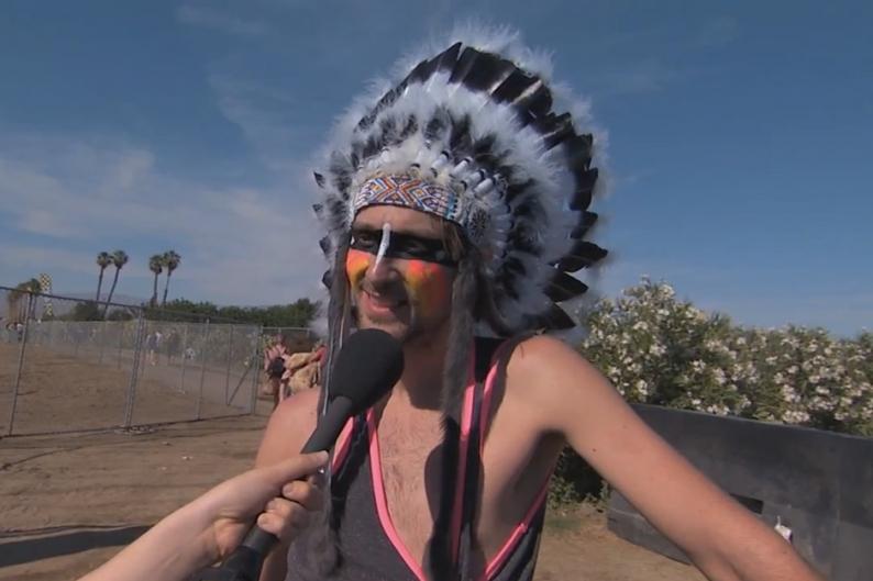 Watch Jimmy Kimmel Let Coachella Hipsters Embarrass Themselves