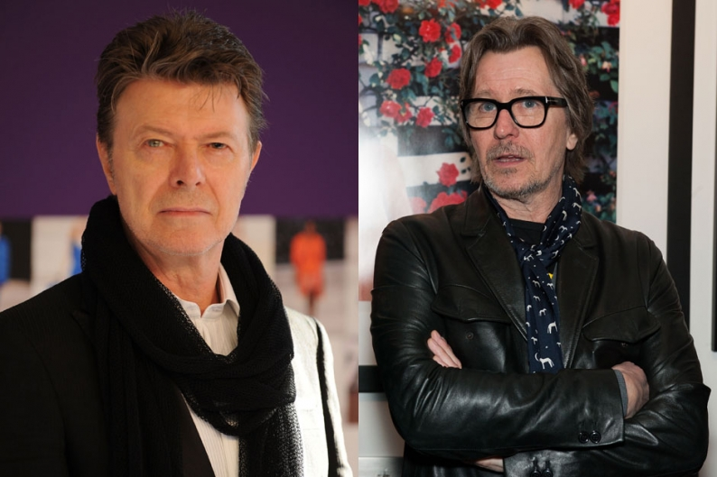 david bowie, gary oldman, video, the next day