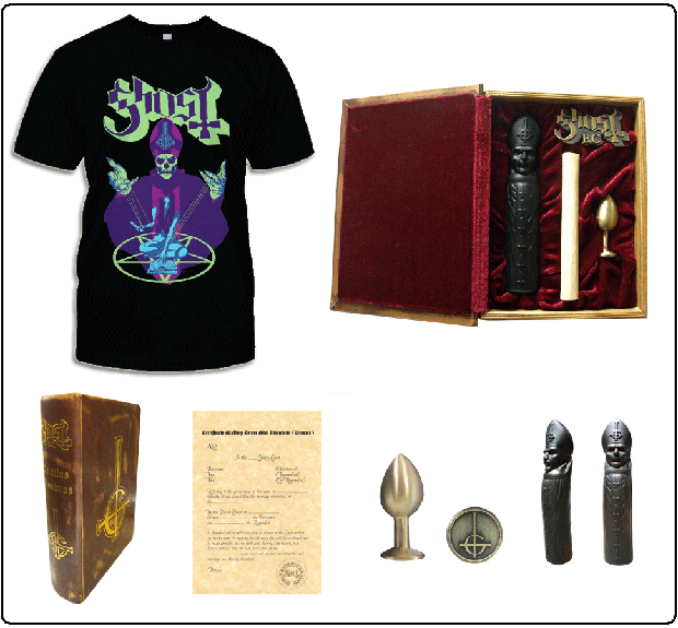 Ghost B.C. Dildo Butt Plug Box Set Phallos Mortuss Ritual