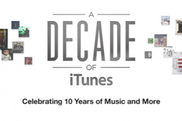 itunes, 10th anniversary