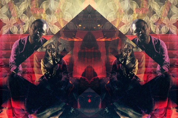 Shabazz Palaces / Image by Leif Podhajsky, original band photo by David Belisle