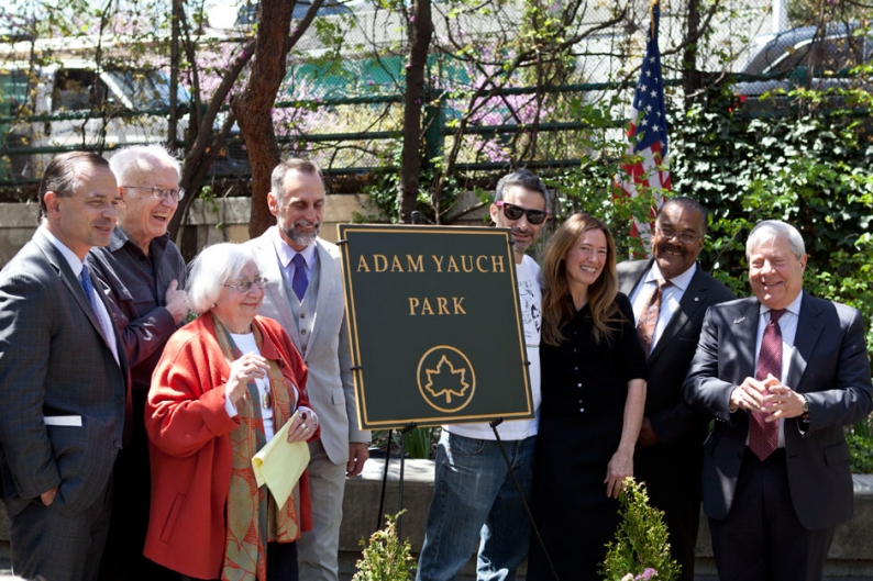 Watch Adam 'MCA' Yauch Immortalized at Tearful Brooklyn Park Renaming Ceremony