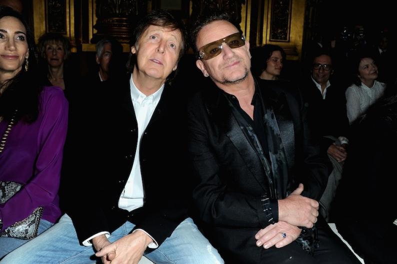 Paul McCartney, Bono